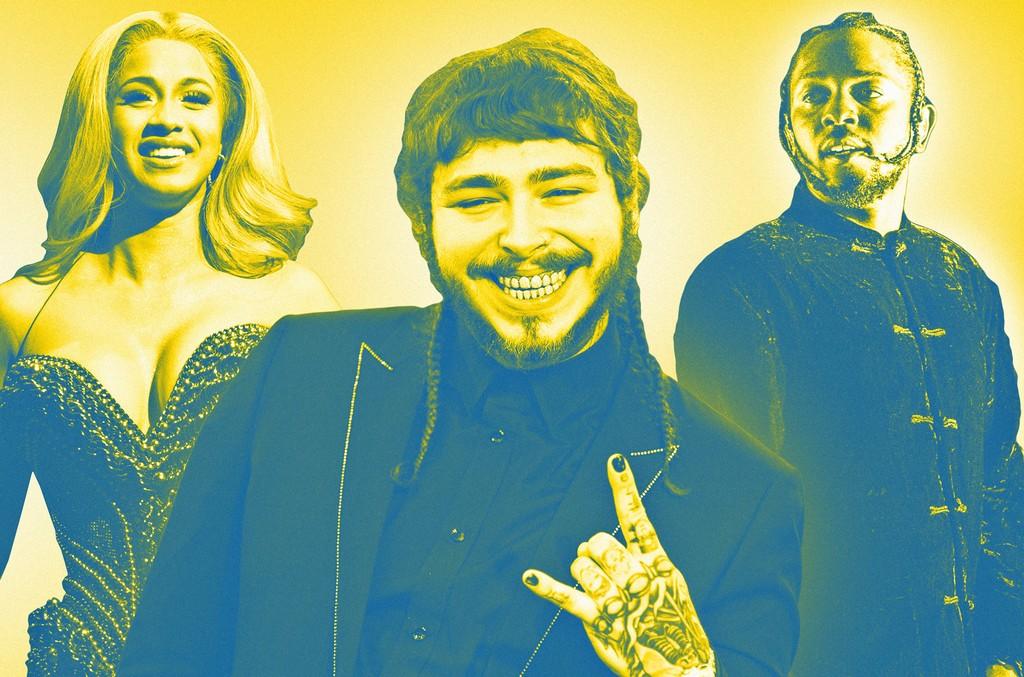 Cardi B, Post Malone & Kendrick Lamar