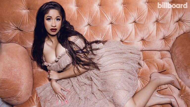 <p>Cardi B photographed on Nov. 7, 2017 at Carondelet House in Los Angeles. Styling by Kollin Carter. Cardi wears a Dsquared2 dress and Christian Louboutin shoes.&nbsp&#x3B;</p>