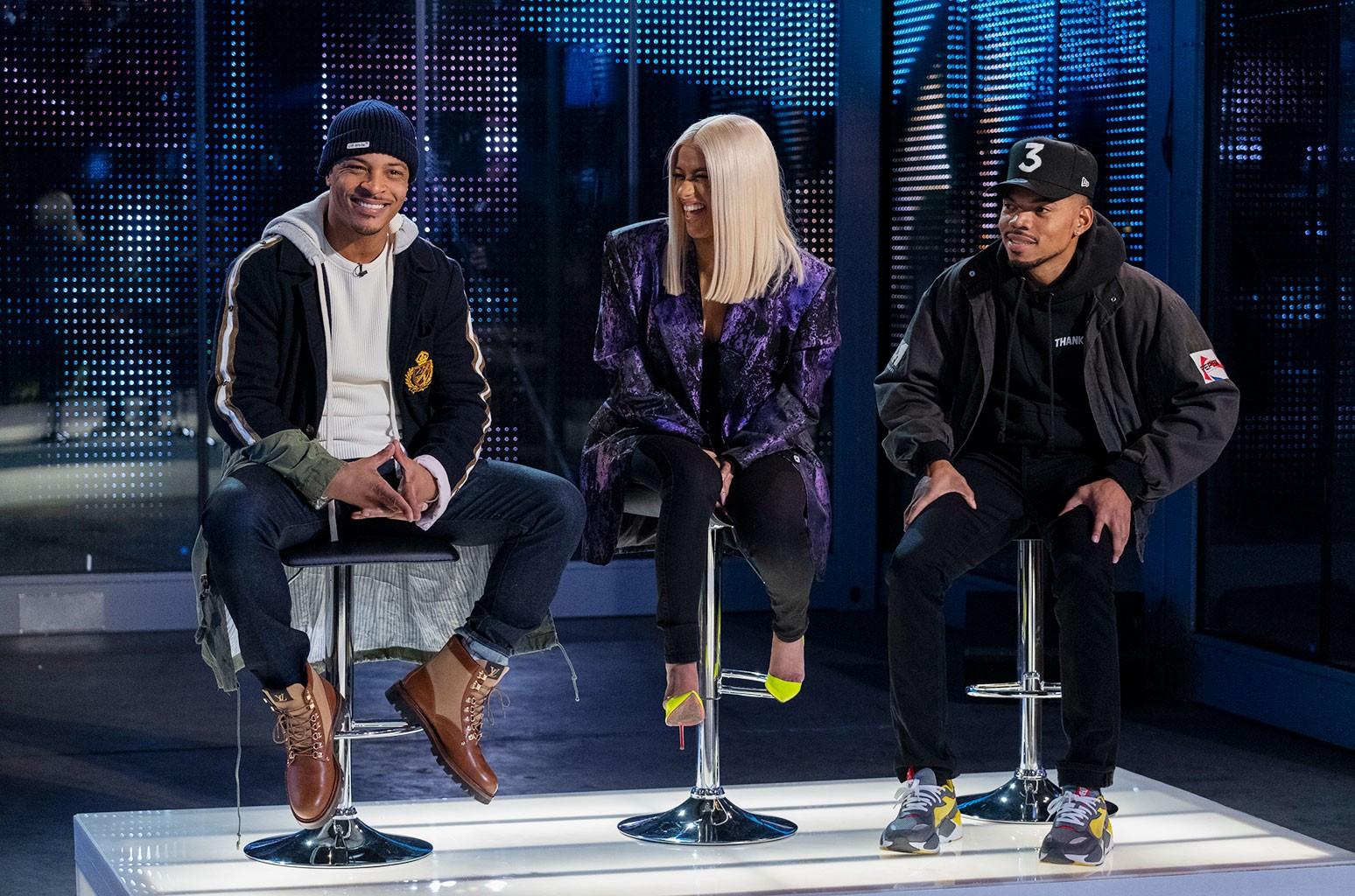 T.I., Cardi B and Chance The Rapper