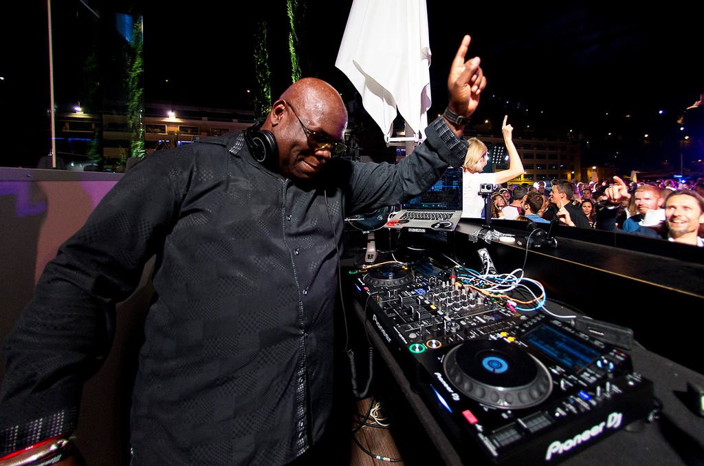 Carl Cox performs at Monte Carlo on May 28, 2016 in Monaco.