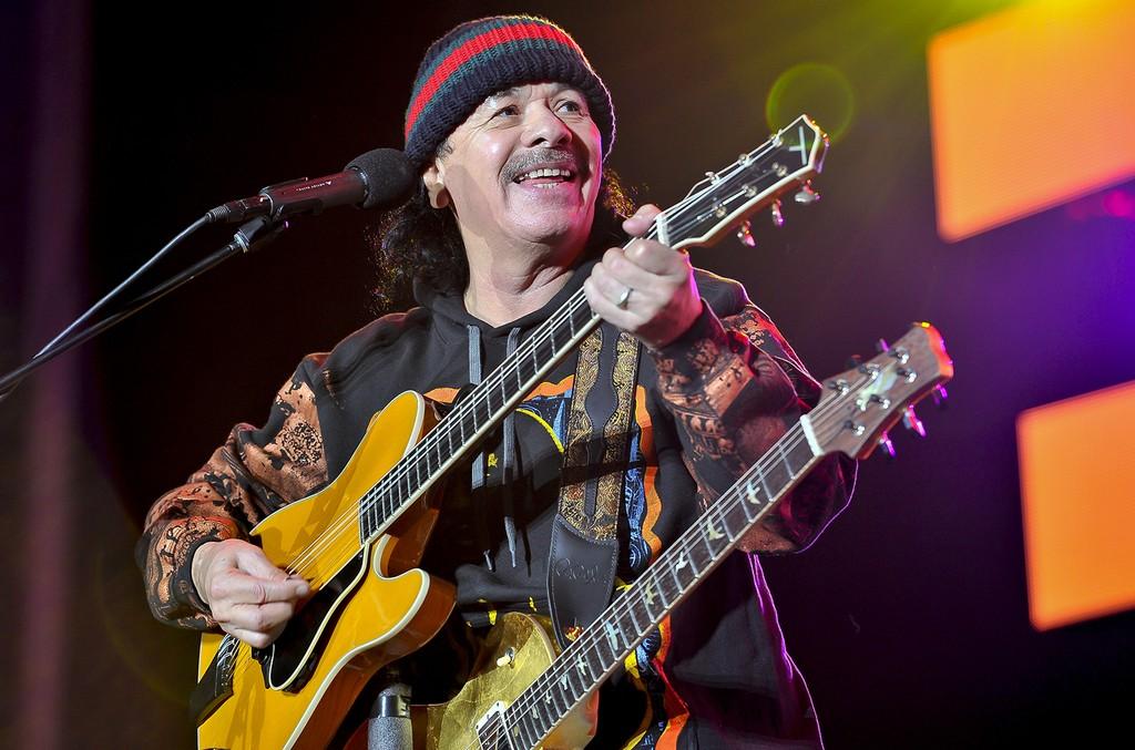 Carlos Santana performs at On The Green 2016