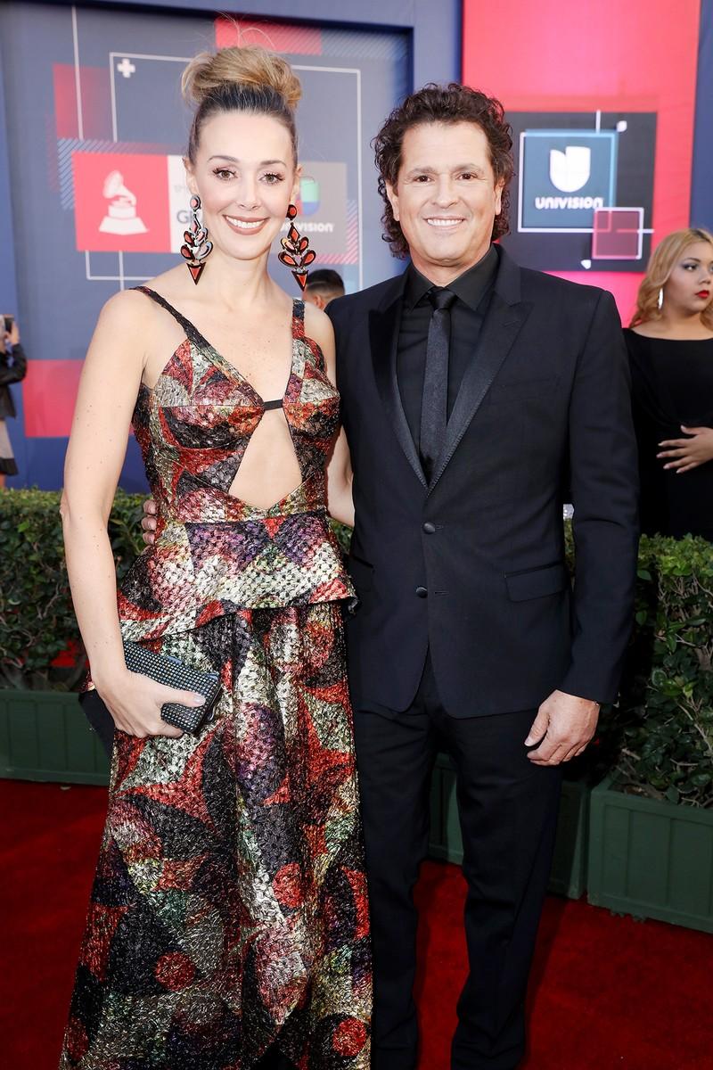 Carlos Vives and Claudia Vasquez