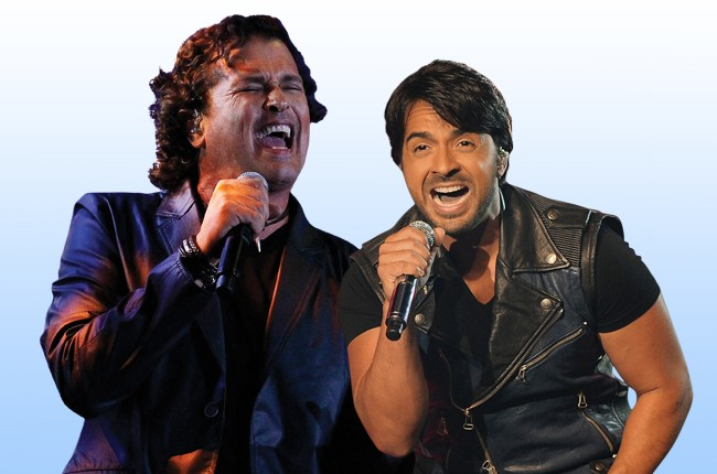 Carlos Vives and Luis Fonsi