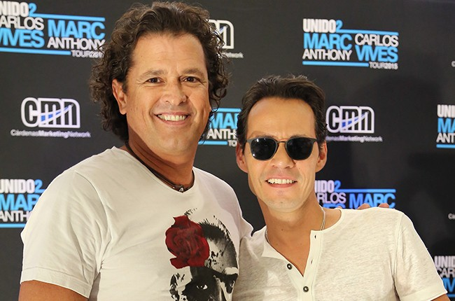Carlos Vives and Marc Anthony