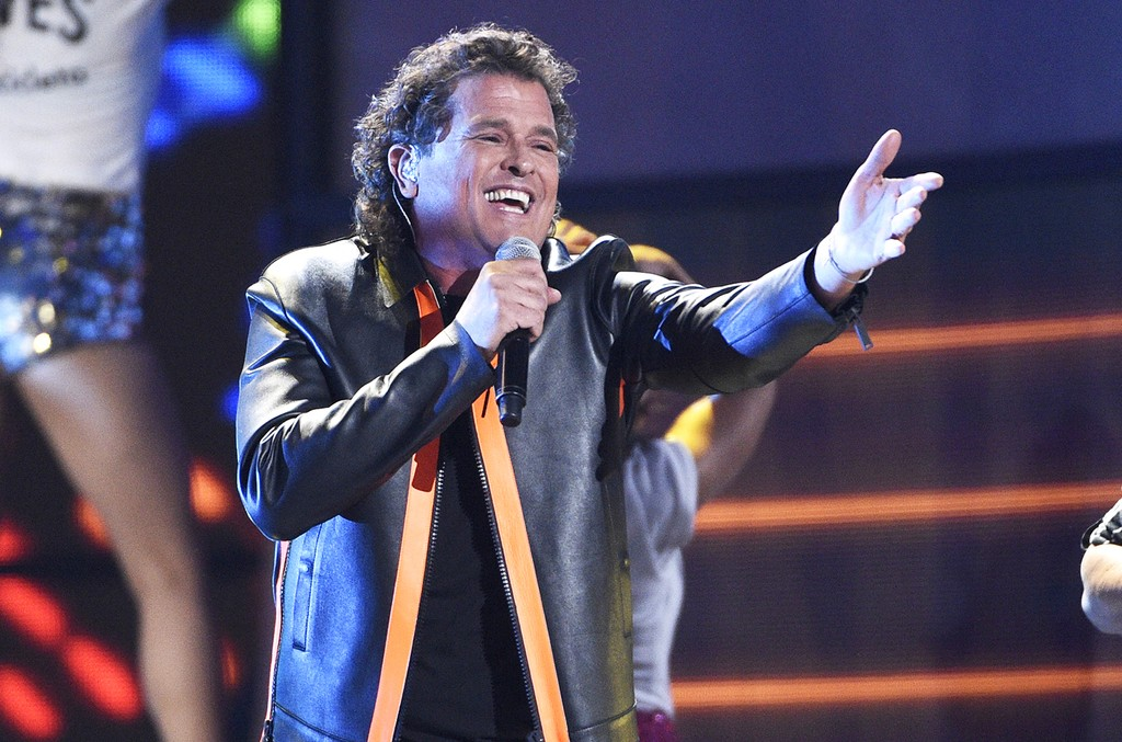 Carlos Vives performs at the 17th annual Latin Grammy Awards at the T-Mobile Arena on Nov. 17, 2016 in Las Vegas.