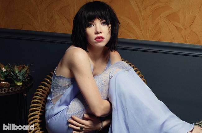 Carly Rae Jepsen photographed on July 10, 2015 at Experimental Cocktail Club in New York City.