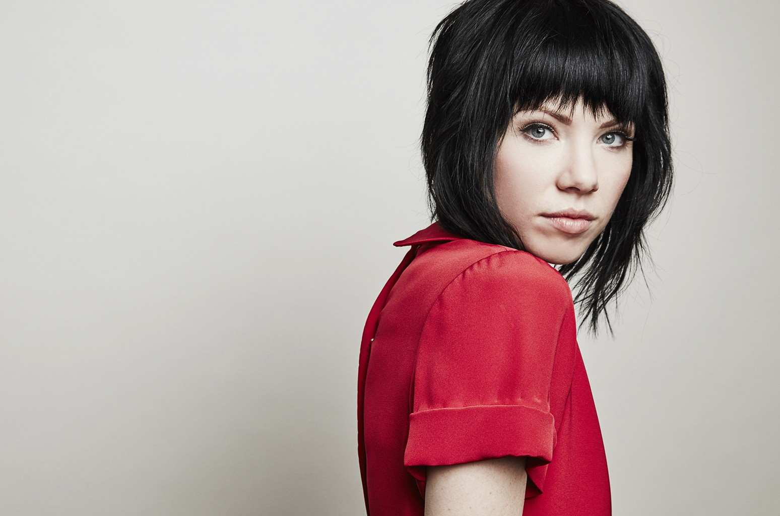 Carly Rae Jepsen photographed in the Getty Images Portrait Studio at the 2016 Winter Television Critics Association press tour at the Langham Hotel on Jan. 15, 2016 in Pasadena, Calif.