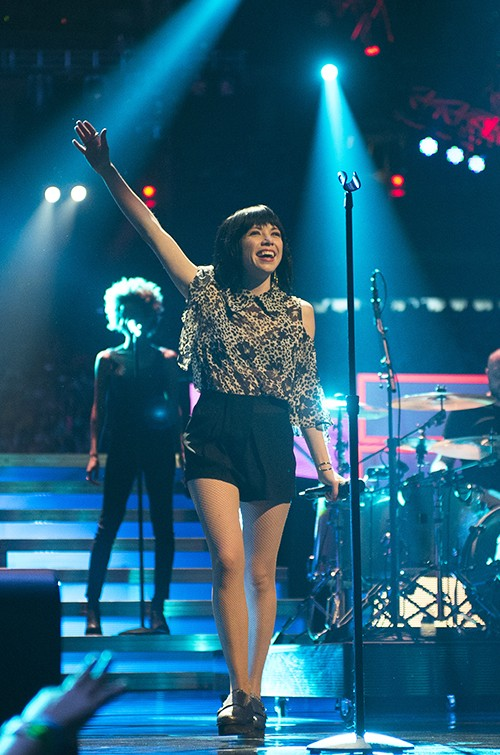 Carly Rae Jepsen performs at We Day