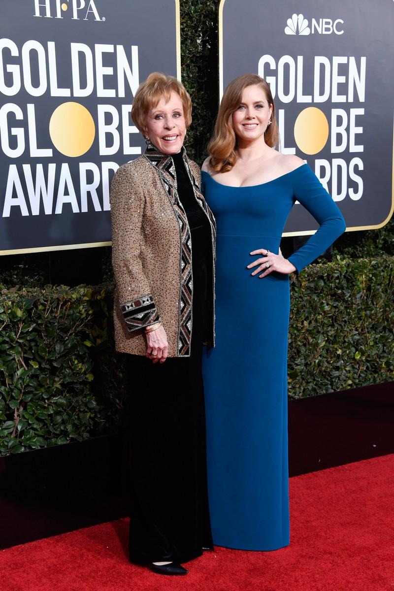 Carol Burnett and Amy Adams