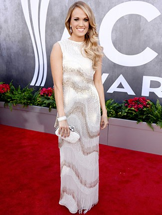 Carrie Underwood at the 2014 ACM Awards