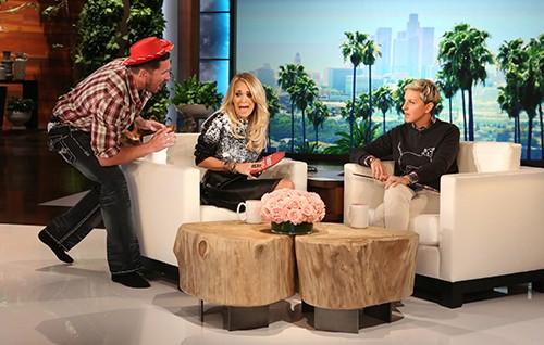 """Carrie Underwood on """"The Ellen DeGeneres Show"""""""