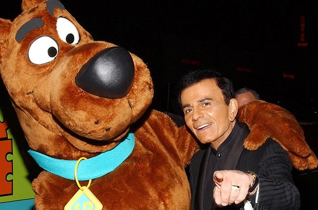 Scooby Doo and Casey Kasem