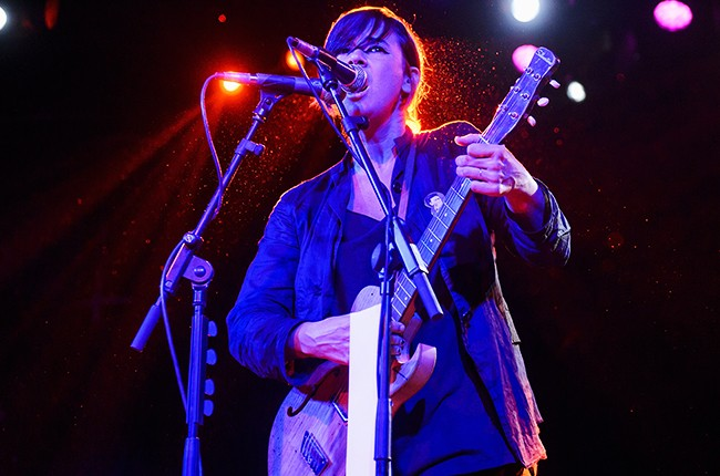 Cat Power performs on stage at Sala La Riviera on November 16, 2014 in Madrid
