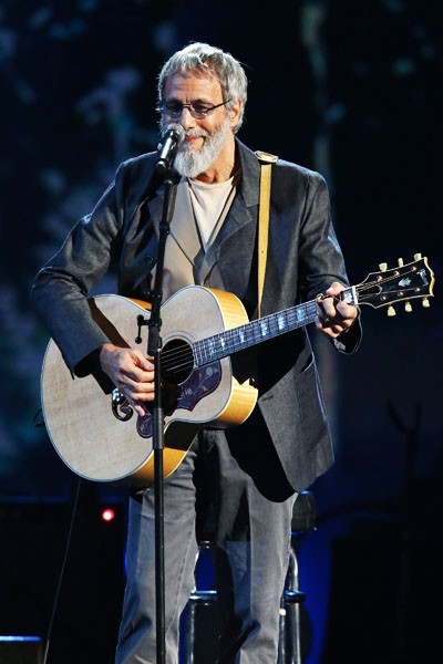 Cat Stevens performs at the 2014 Rock And Roll Hall Of Fame Induction Ceremony