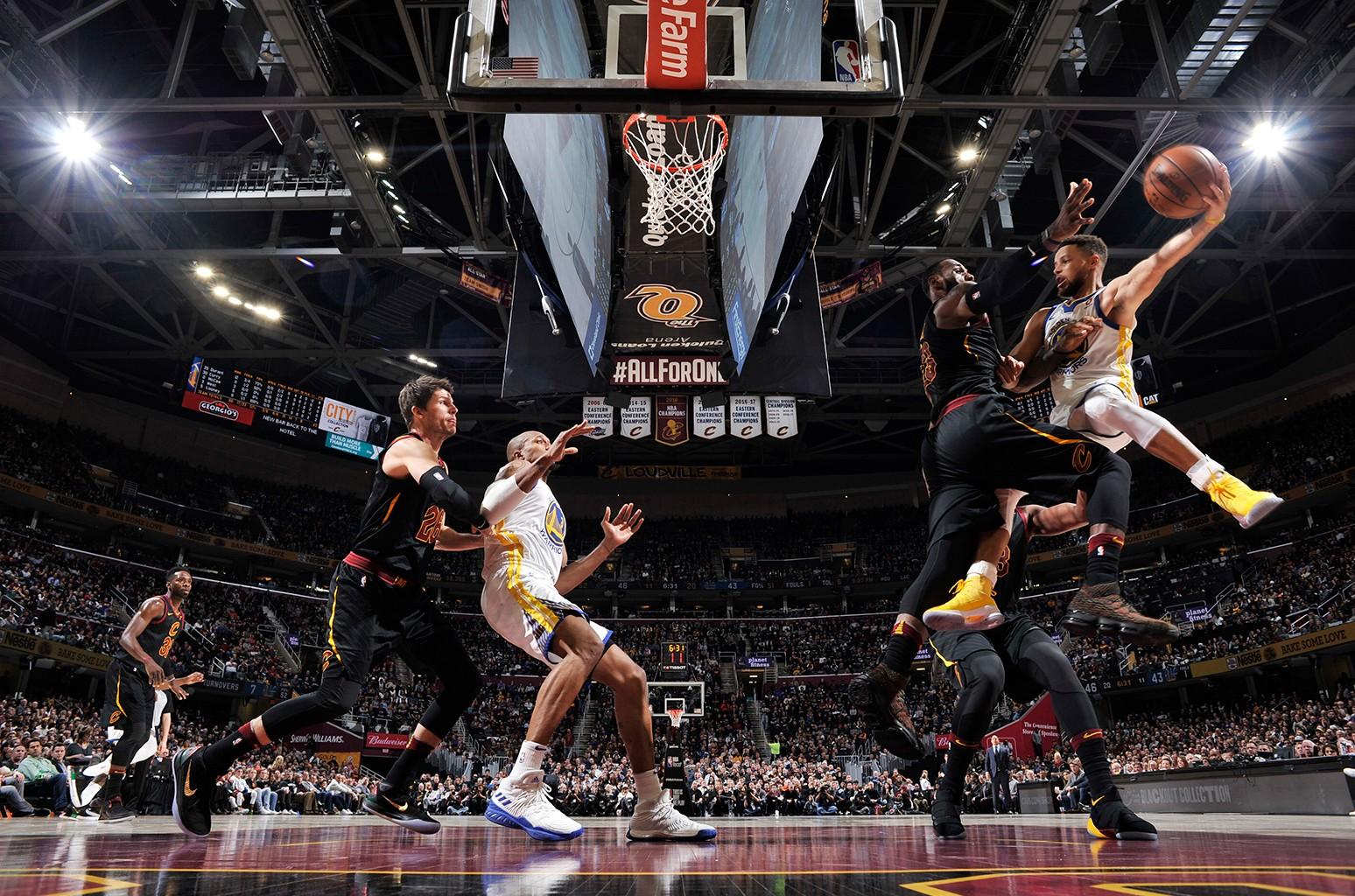 Cavaliers Warriors