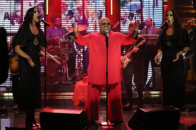 """CeeLo Green performs on """"The Tonight Show Starring Jimmy Fallon"""""""