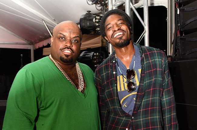 CeeLo Green and Andre 3000
