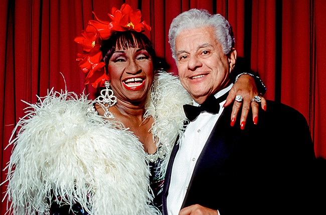 Celia Cruz and Tito Puente