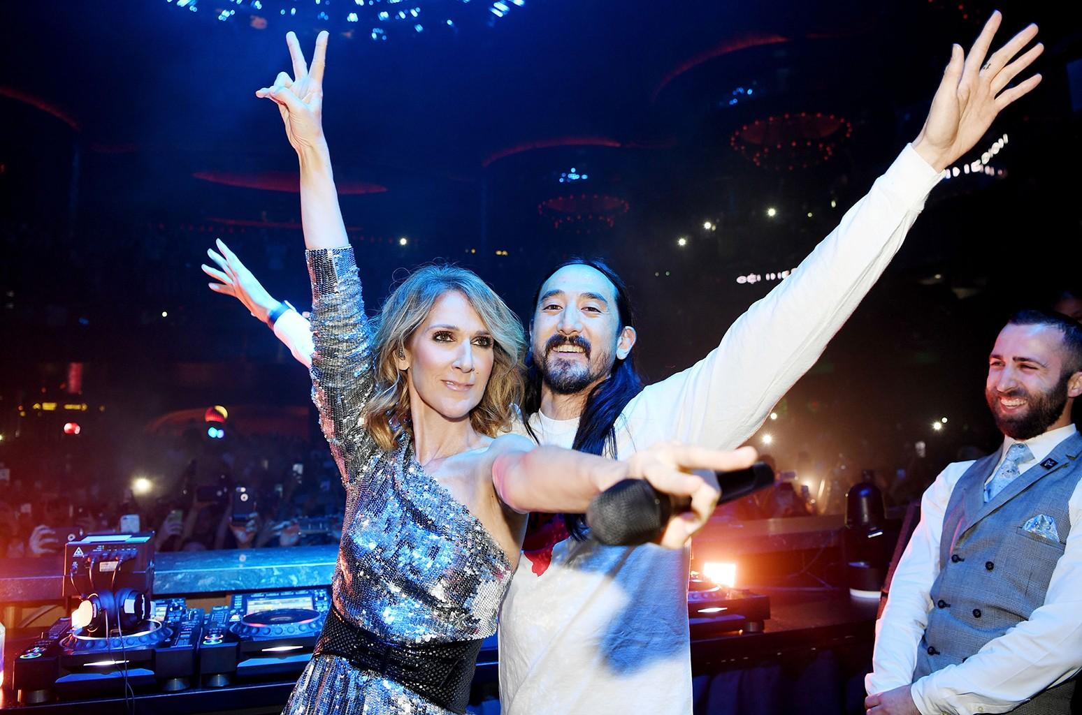 Celine Dion & Steve Aoki