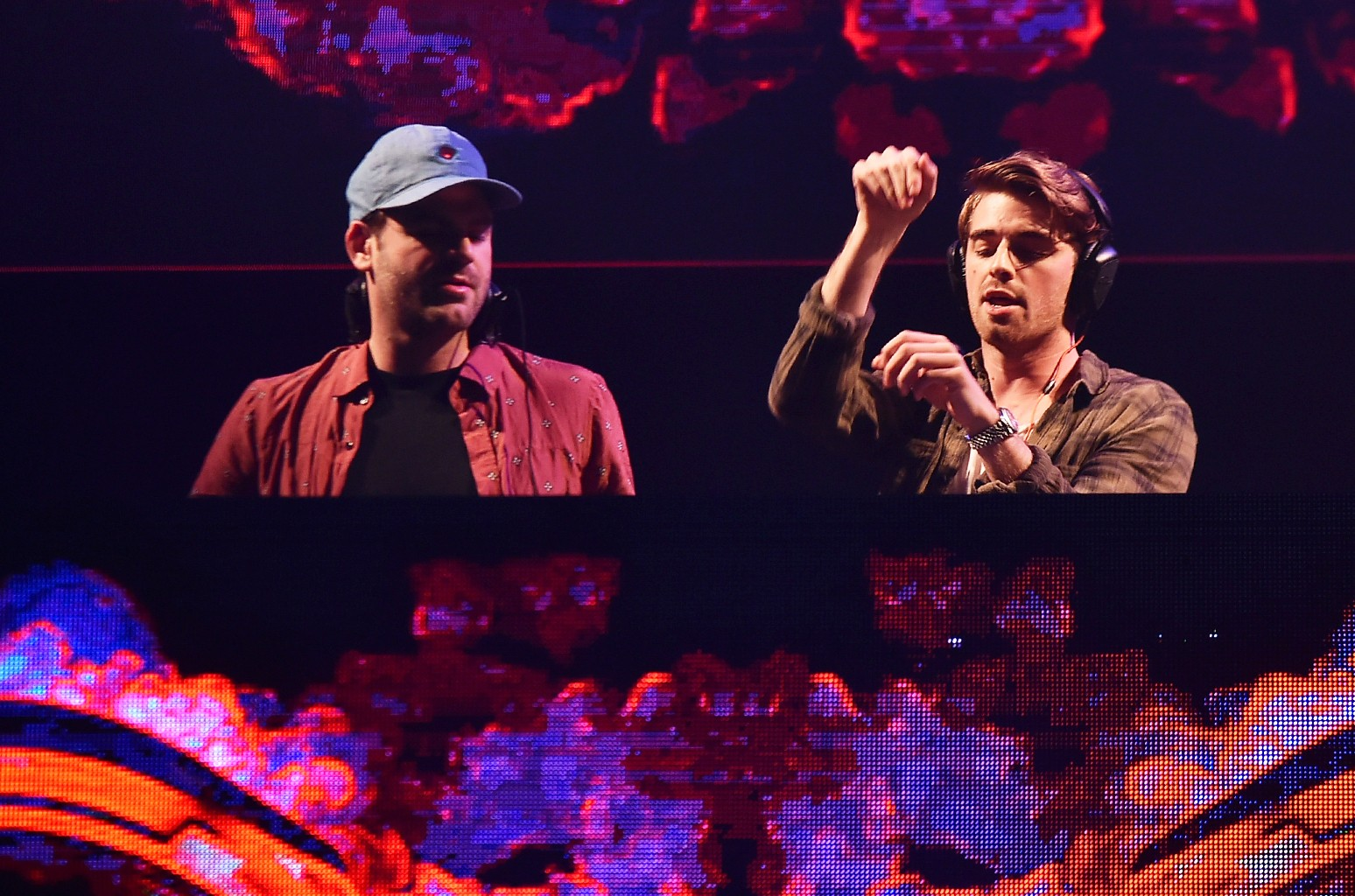 The Chainsmokers in 2016