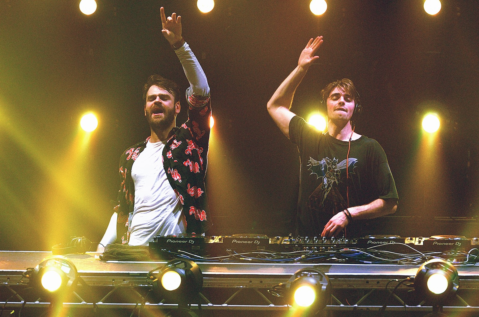 The Chainsmokers perform at The Roundhouse on Feb. 24, 2017 in London.
