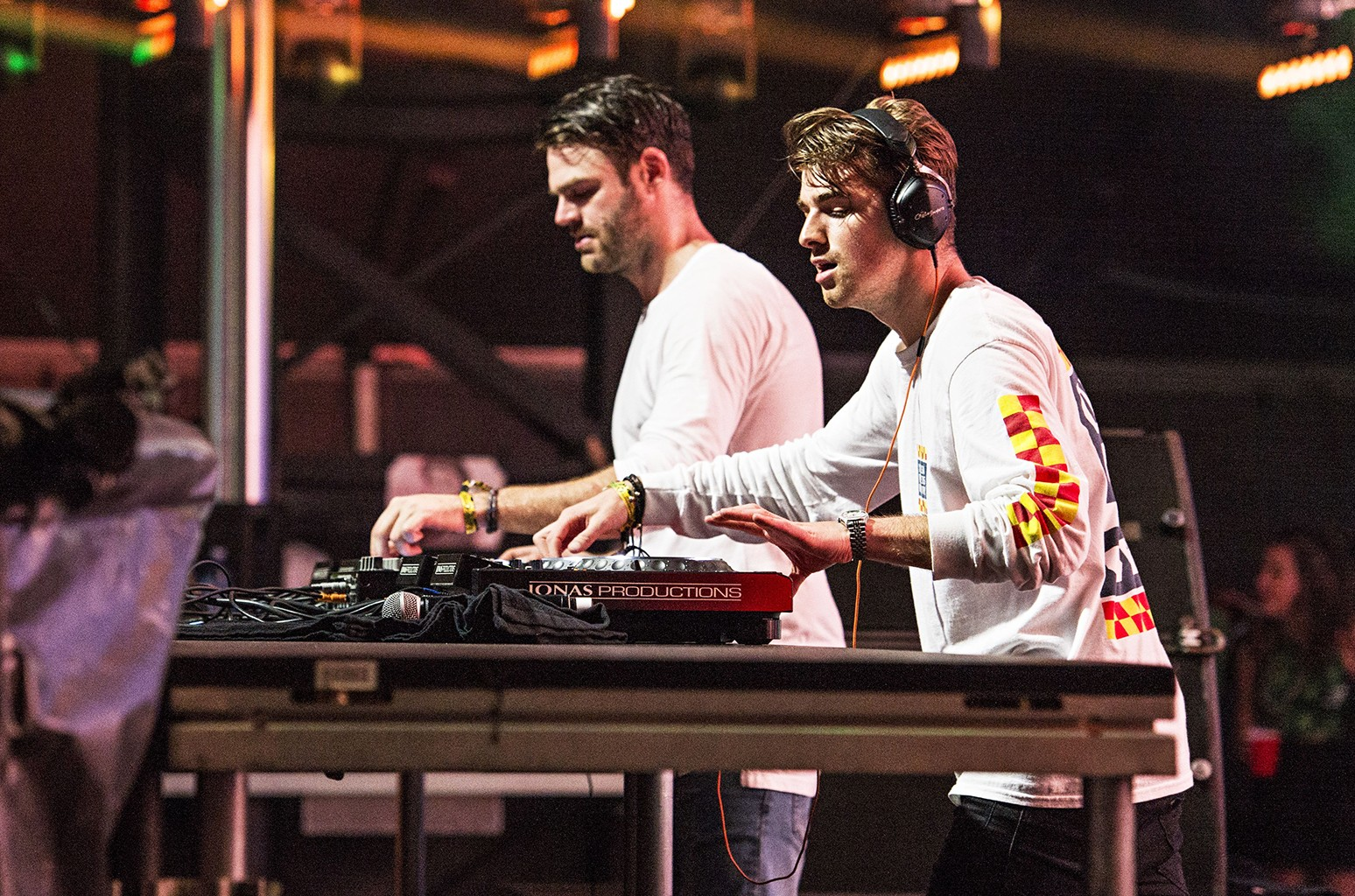 The Chainsmokers perform on Sept. 17, 2016.