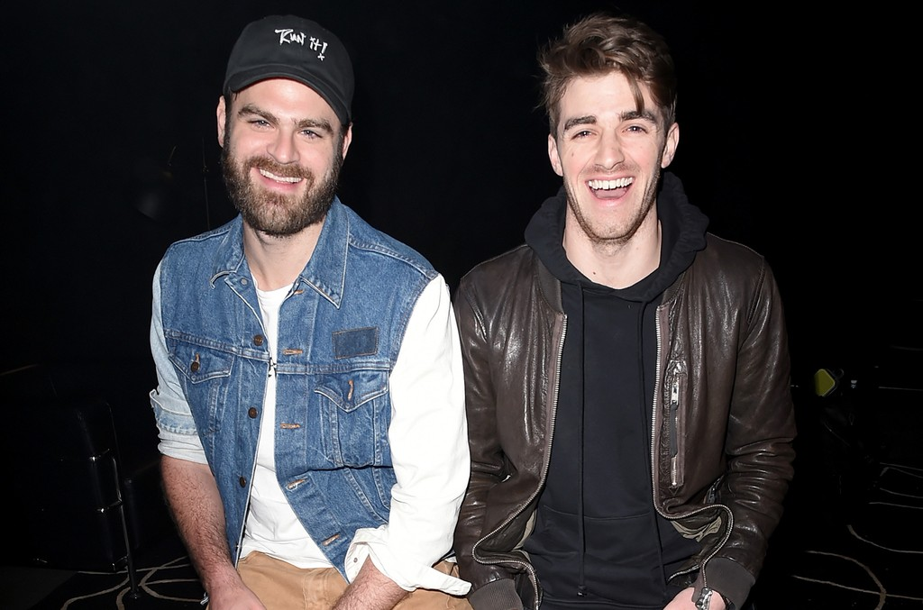 The Chainsmokers attend Sony's 'Lost in Music' Launch on Jan. 13, 2017 in Los Angeles.
