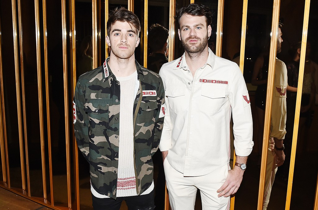 The Chainsmokers attend the Valentino Resort 2018 Runway Show - After Party on May 23, 2017 in New York City.