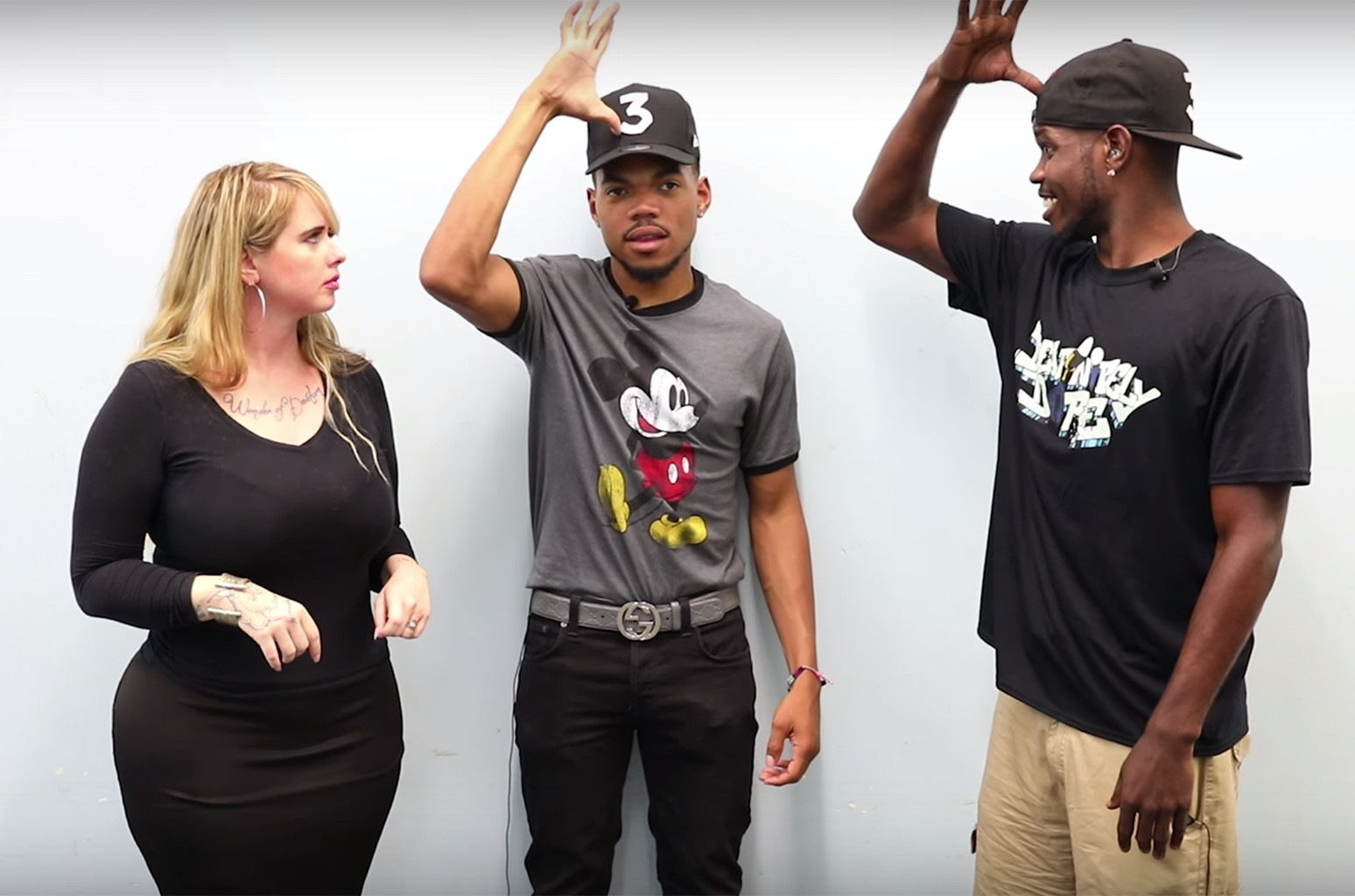 Chance the Rapper Sign Language, 2017