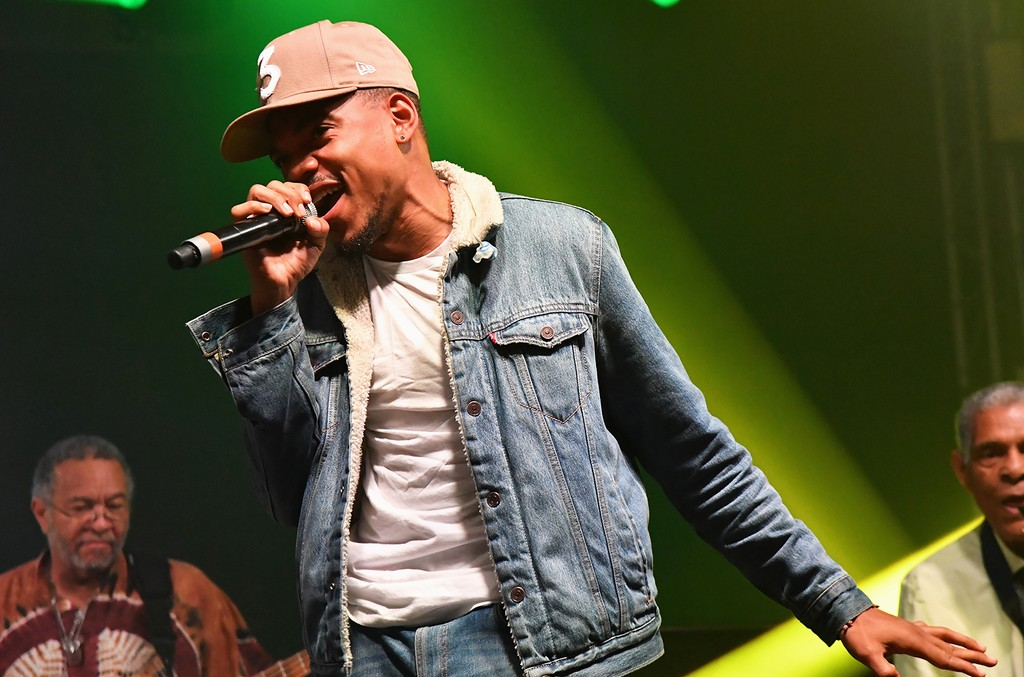 Chance the Rapper performs during the 2017 Bonnaroo Arts And Music Festival on June 10, 2017 in Manchester, Tenn.