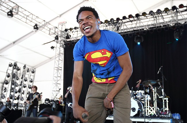 Chance the Rapper performs at Governors Ball 2014