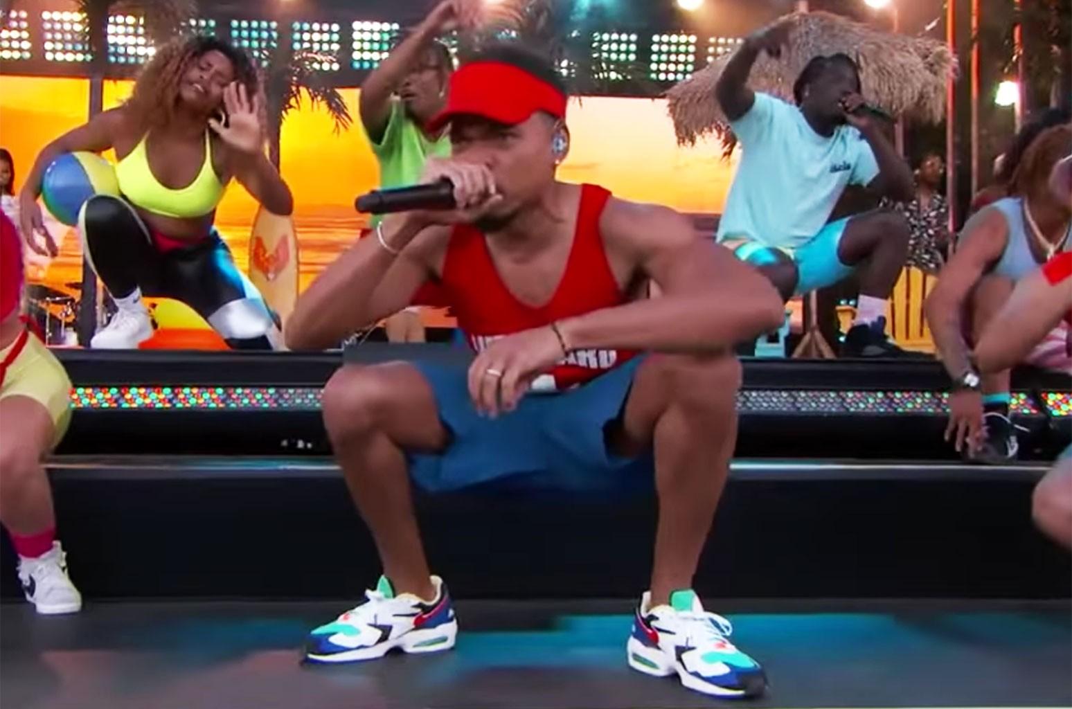 Chance The Rapper Jimmy Kimmel