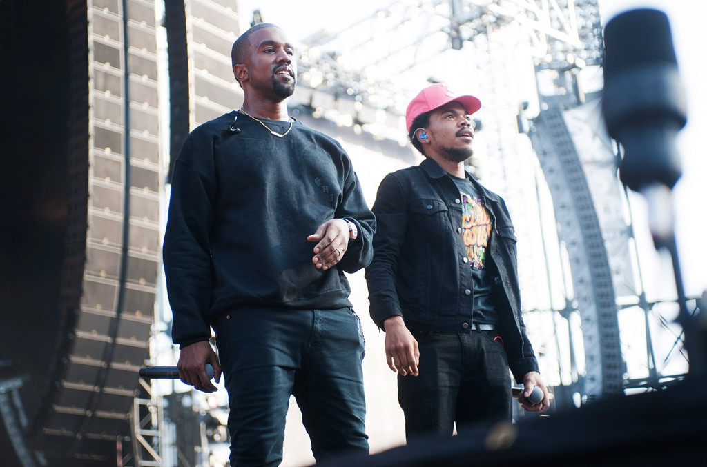 Kanye West Hits The Studio In Chicago To Record With Chance The Rapper Billboard
