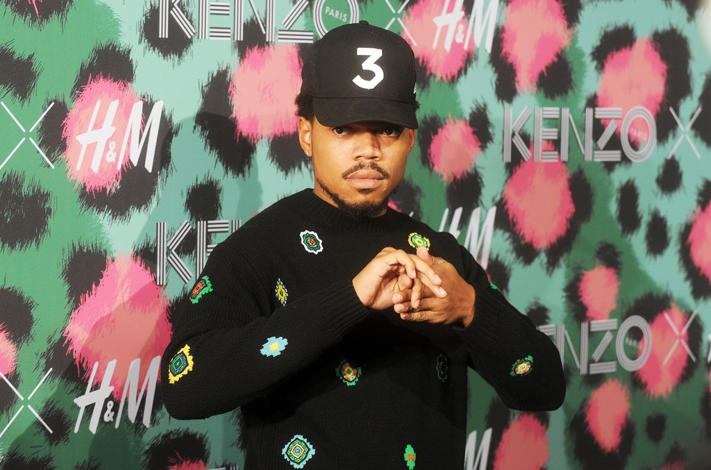Chance the Rapper attends Kenzo x H&M