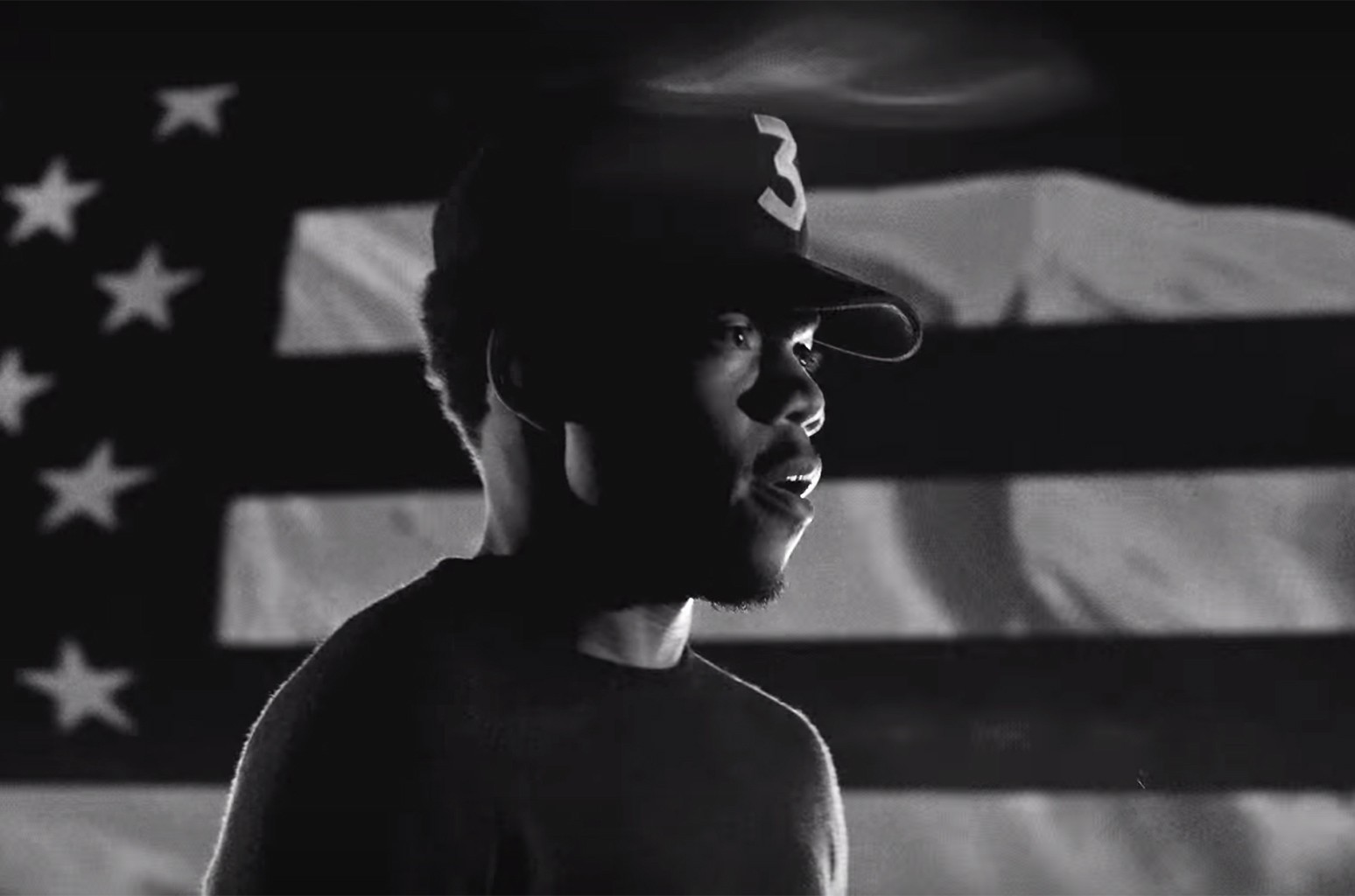Chance the Rapper in a video for Nike: Unlimited Together.