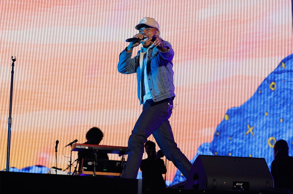 Chance The Rapper performs live during 2017 Governors Ball Music Festival - Day 1 at Randall's Island on June 2, 2017 in New York City.