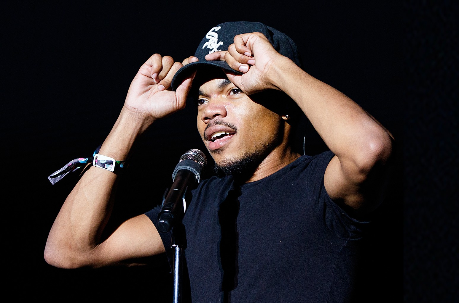 Chance the Rapper  performs at 2015 Squamish Valley Music Fest