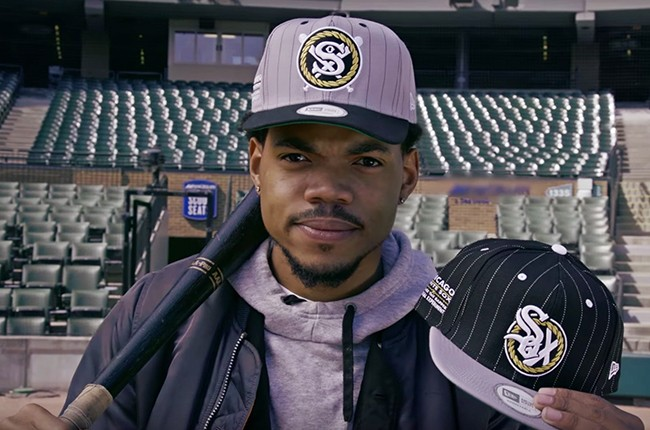 Chance the Rapper White Sox hat 2016