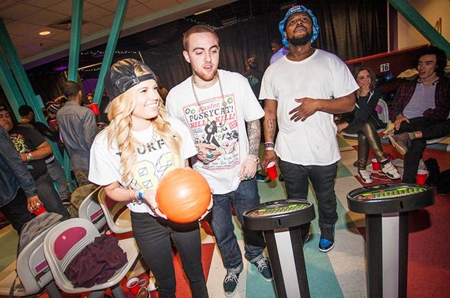 Chanel West Coast, Mac Miller and ScHoolboy Q
