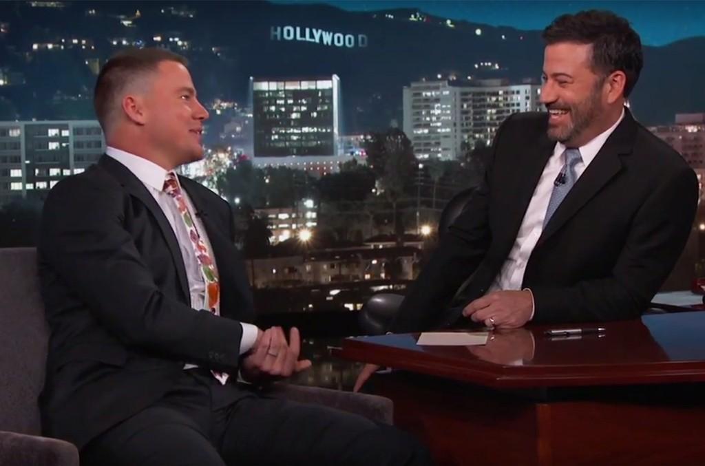 Channing Tatum on Jimmy Kimmel Live