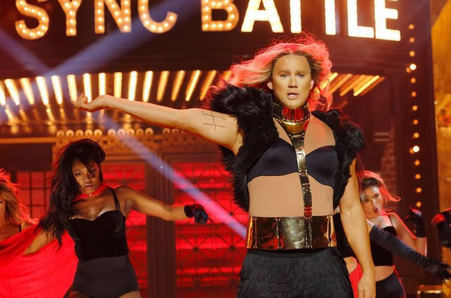 Channing Tatum on Lip Sync Battle