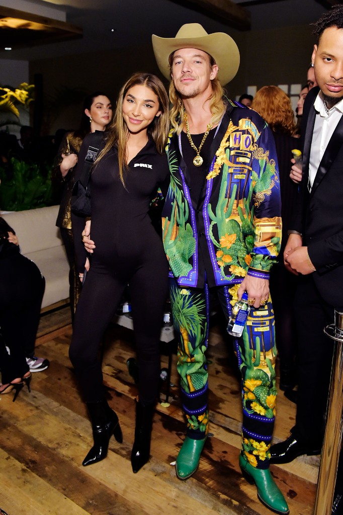 Chantel Jeffries and Diplo