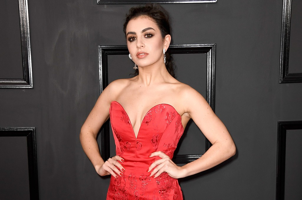 Charli XCX attends The 59th Grammy Awards at Staples Center on Feb. 12, 2017 in Los Angeles.