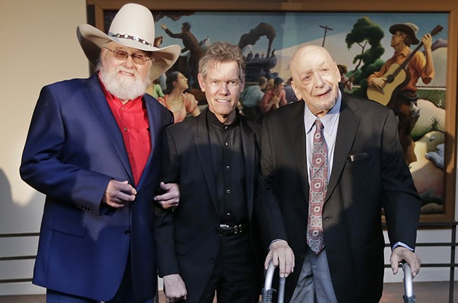 Charlie Daniels Randy Travis Country Music Hall of Fame 2016