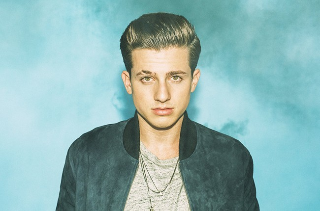 Charlie Puth photographed in 2015 for Atlantic Records.