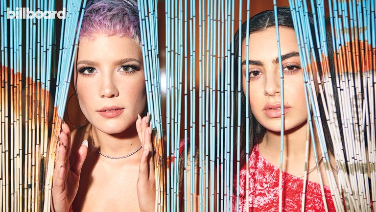 <p>Halsey (left) and Charli XCX photographed on Aug. 6, 2017 at the Catalyst Ranch in Chicago.&nbsp&#x3B;Styling by&nbsp&#x3B;Maeve&nbsp&#x3B;Reilly.&nbsp&#x3B;Halsey wears a&nbsp&#x3B;Véronique&nbsp&#x3B;Leroy jumpsuit,&nbsp&#x3B;Schutz&nbsp&#x3B;shoes and Lana Jewelry.&nbsp&#x3B;Charli wears a Véronique Leroy top and Lana Jewelry.</p>