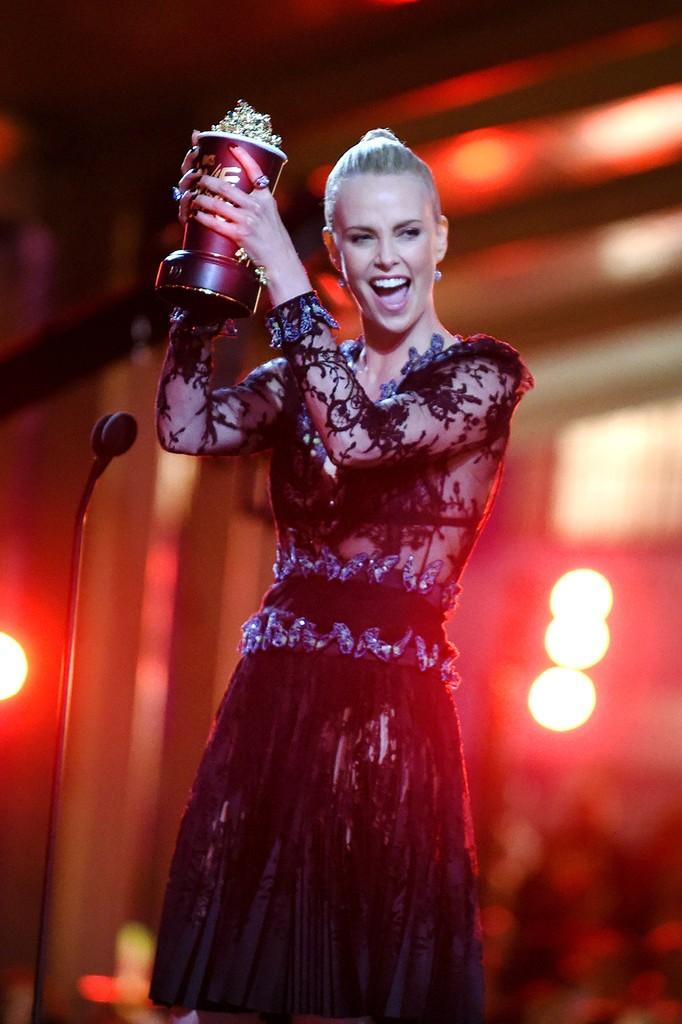 Charlize Theron  2016 mtv movie awards