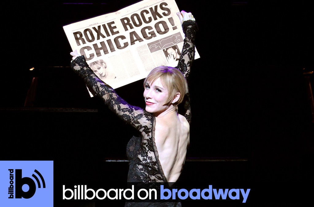 Charlotte d'Amboise as Roxie Hart in 'Chicago'