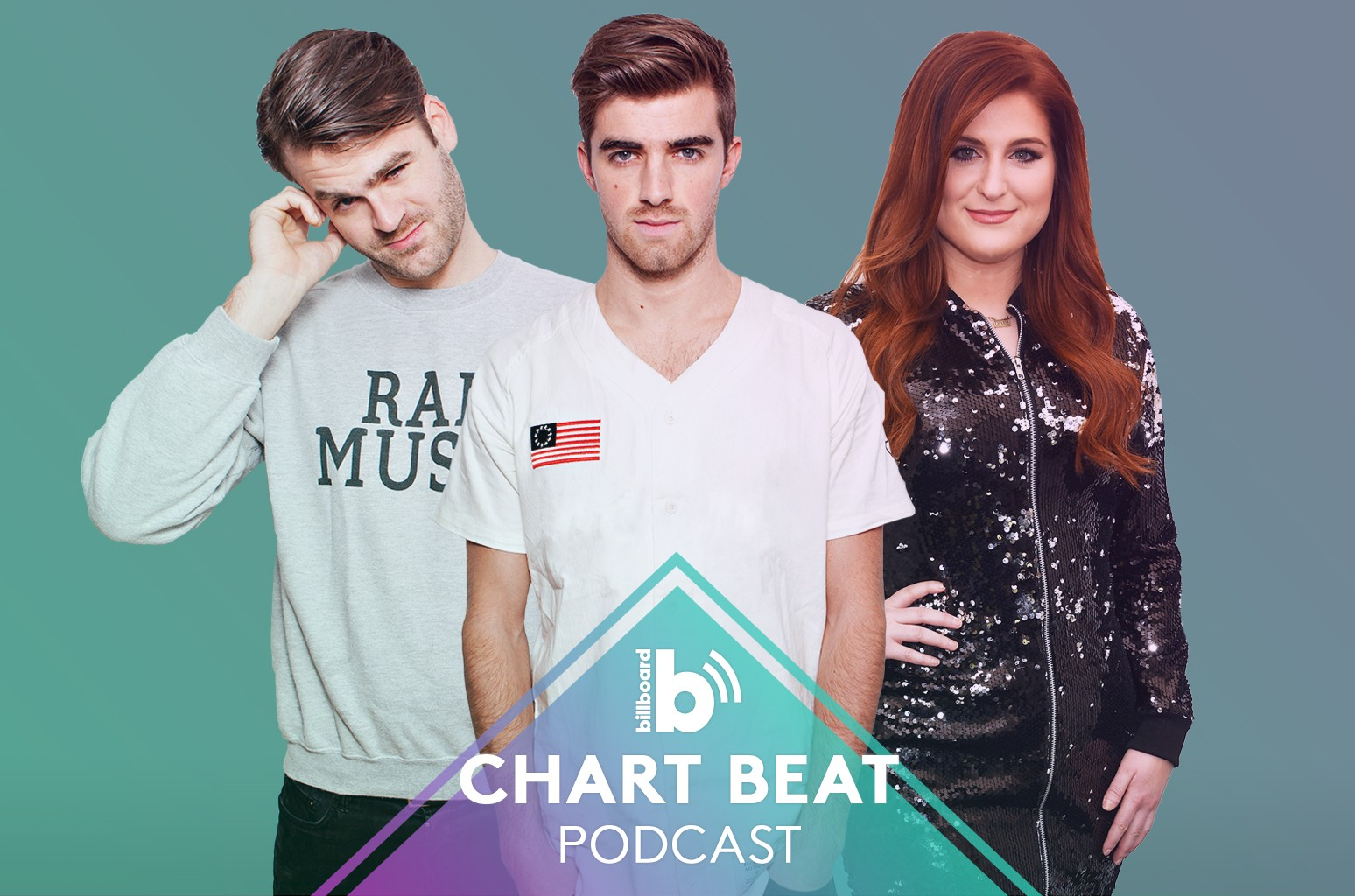 Chart Beat Podcast: Chainsmokers and Meghan Trainor