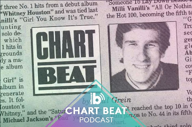 Paul Grein for Billboard's Chart Beat podcast.